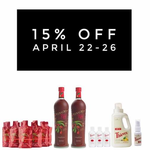 NingXia Red 15% Off